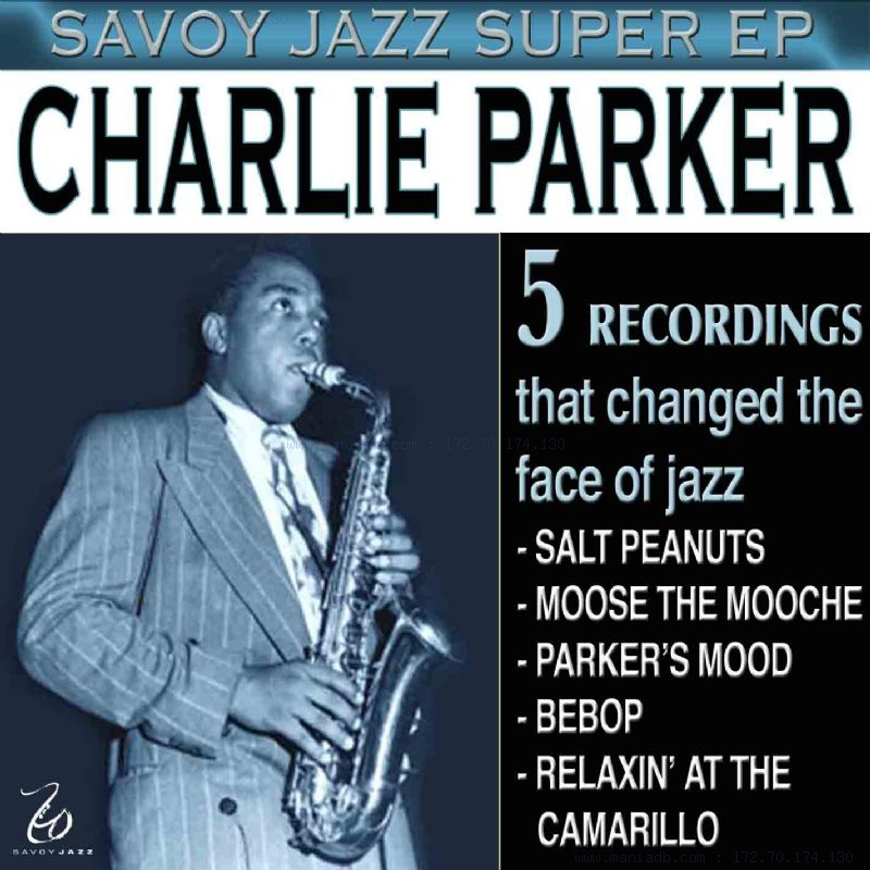 Charlie parker at birdland and caf0e9 society (cool and blue cd 108)