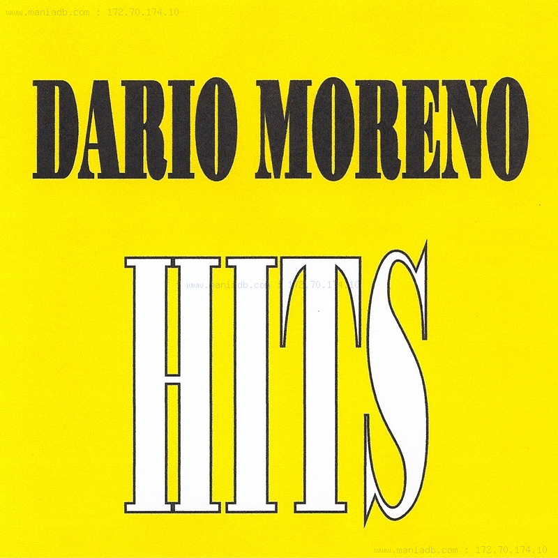 Dario Moreno Toi L'inconnue
