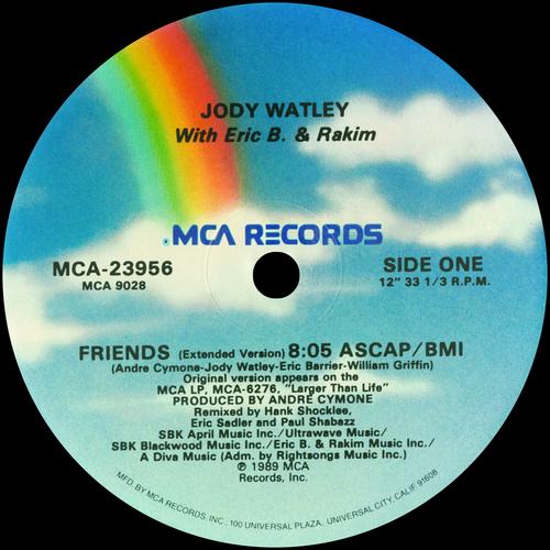 Jody Watley - Eric B. & Rakim Friends