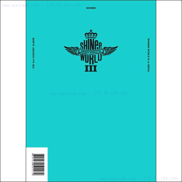 샤이니 - Shinee The 3rd Concert : Shinee World III In Seoul ... Shinee Ring Ding Dong Album Cover